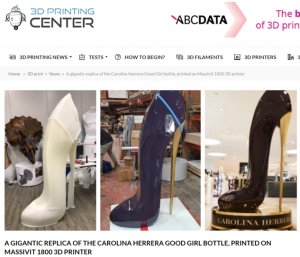 Carolina Herrera 3D Printed Shoe