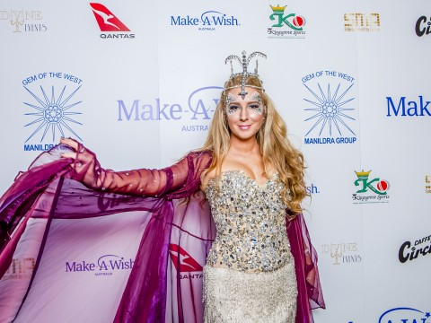 Make A Wish Media Wall from Gala