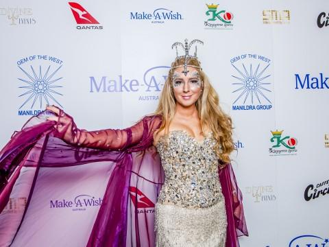Make A Wish Media Wall from Gala
