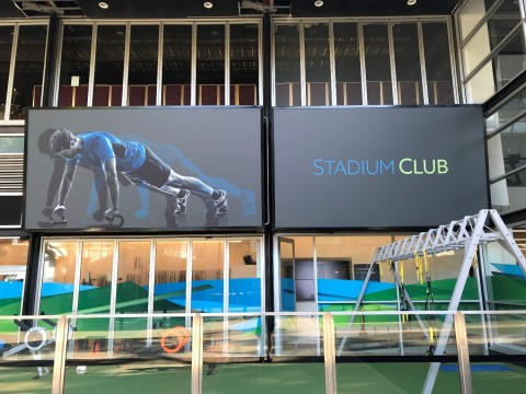 Stadium Gym Gaphics