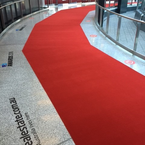 Event Centre floor graphic