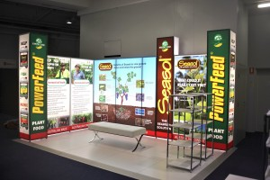 Seasol illuminated exhibition stand